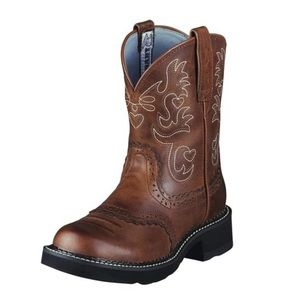 Fatbaby Ariat Saddle Western Boot